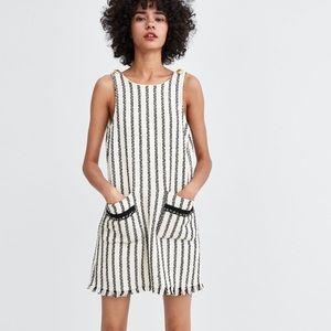 Zara Tweed shift Dress size M